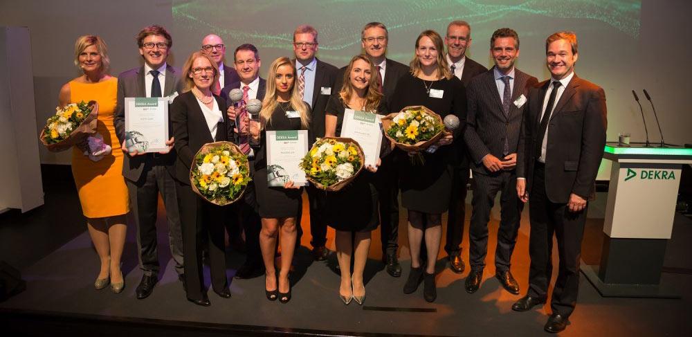 """Truckers Life - Gewinner in der Kategorie """"Sicherheit im Verkehr"""" Dekra Award 2016"""