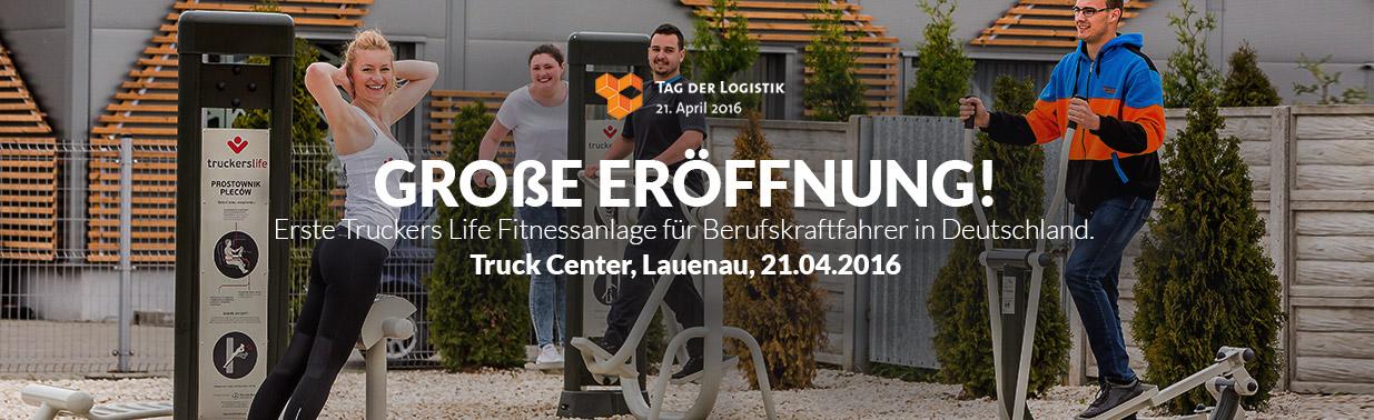 Große Eröffnung! Erste Truckers Life Fitnessanlage für Berufskraftfahrer in Deutschland