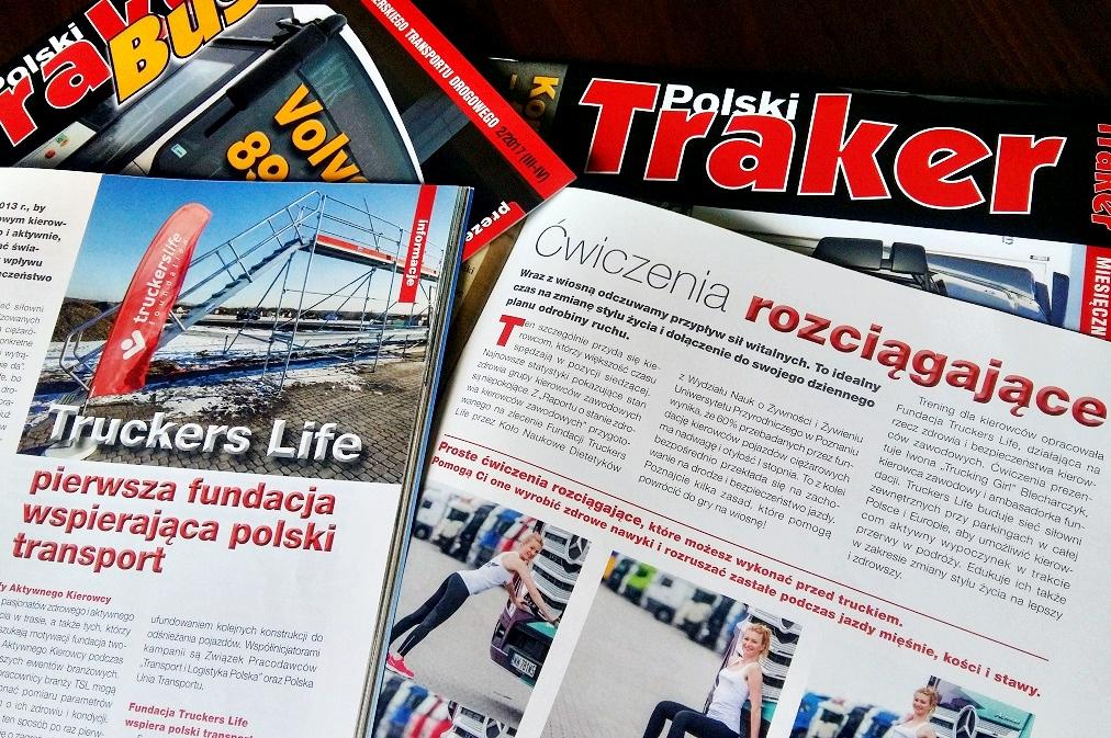 Ćwiczenia rozciągające dla kierowców w majowym wydaniu Polskiego Trakera